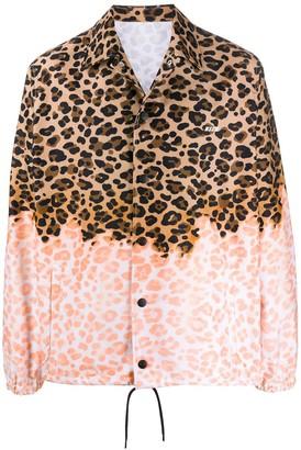MSGM Leopard Print Lightweight Jacket