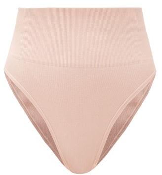 Skin The Tummy Toner Cotton-blend Thong - Pink