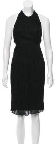Chanel Knit Halter Dress w/ Tags