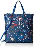 Piero Guidi Women's High Top-Handle Bag blue