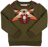 Scotch Shrunk PATCHWORK PULLOVER SWEATSHIRT