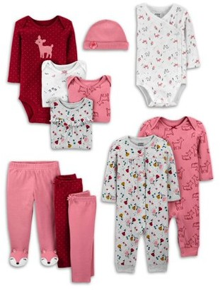 Child of Mine by Carter's Baby Girl Clothes Shower Gift Set, 11-Piece