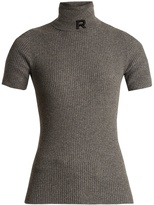 Rochas Ribbed-knit cashmere sweater