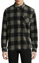 IRO Checkered Button-Down Shirt