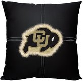 "Northwest NOR-1COL142000085RET 18"" x 18"" Colorado Golden Buffaloes NCAA Team Letterman Pillow"