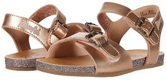 Blowfish Kids Glexie-T (Toddler/Little Kid) (Pearl Rose Gold Dyecut PU) Girl's Shoes