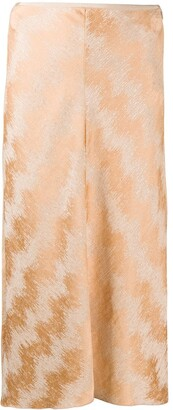 Forte Forte Metallized Straight Skirt
