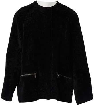 N. Trager Delaney \N Black Shearling Coats