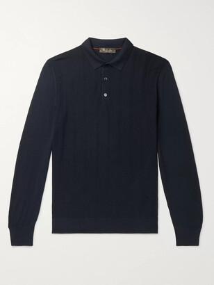 Loro Piana Slim-Fit Kilberry Virgin Wool Polo Shirt