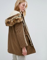 Parka London Alexia 3-In-1 Parka With Wearable Bomber Jacket Lining