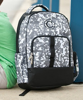 Designs By Two Greek Sisters Designs by Two Greek Sisters Backpacks - Gray Digital Personalized Backpack