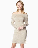 Charming charlie Comfy Cowl Neck Dress