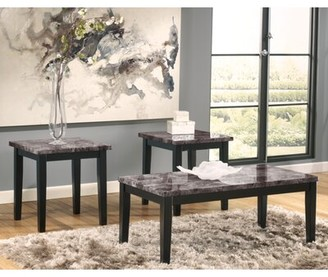 Charlton Home Crume 3 Piece Coffee Table Set