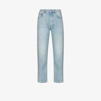 Totême Twisted Seam Cropped Jeans