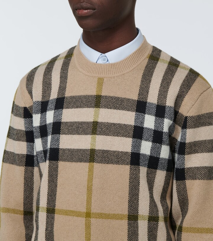 Thumbnail for your product : Burberry Nixon cashmere sweater