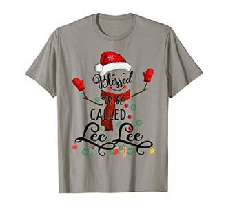 Lee Grandma tee - Blessed to be called  Snowman T-Shirt