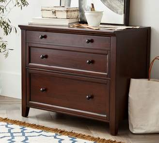 Pottery Barn Hudson Double 3-Drawer Lateral File Cabinet