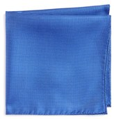 Ted Baker Check Silk Pocket Square