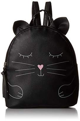 T-Shirt & Jeans Womens Hugging Cat Backpack in
