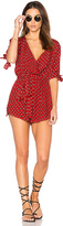 Faithfull The Brand Cusco Playsuit in Red. - size M (also in )