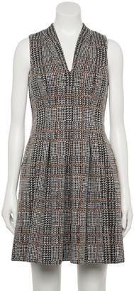 Elle Women's Plaid Fit & Flare Dress