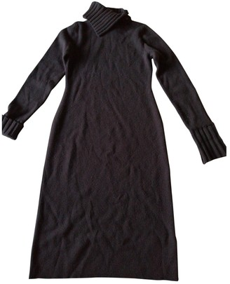 Malo Brown Cashmere Dress for Women