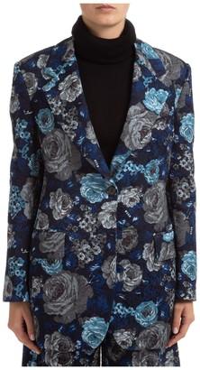 MSGM Floral Jacquard Blazer