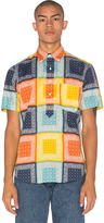 Gitman Brothers S/S Button Down Pop Over