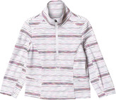 Spyder White Multi Print Bocca 1/2 Zip Baselayer