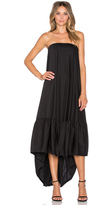 Hoss Intropia Strapless Hi Lo Gown