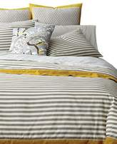 DwellStudio Draper Stripe 300 Thread Count Cotton Duvet
