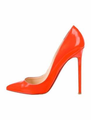 Christian Louboutin Orange Pumps | Shop