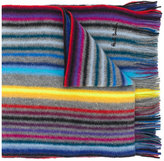 Paul Smith striped knitted scarf - men - Wool - One Size
