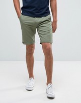 Tommy Hilfiger Freddy Chino Shorts Straight Fit Stretch Twill in Green