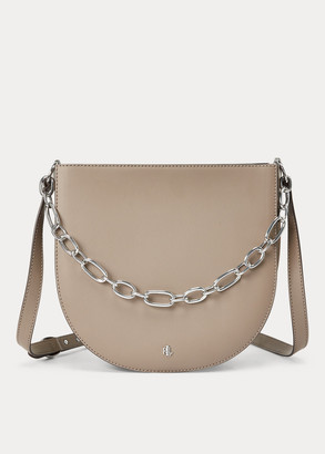 Ralph Lauren Leather Sawyer Shoulder Bag