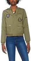 Romeo & Juliet Couture Women's Rj43220 Bomber Jacket