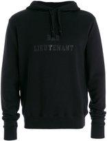 Saint Laurent printed hoodie - men - Cotton - S