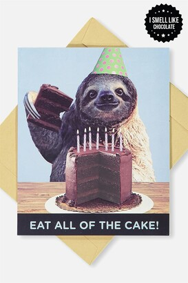 Typo Premium Nice Birthday Card