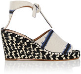 Proenza Schouler WOMEN'S CANVAS ESPADRILLE WEDGE SANDALS