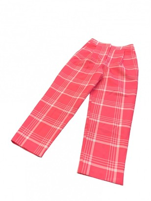 Topshop Tophop Pink Cloth Trousers for Women