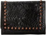 American West Shane Tri-Fold French Wallet