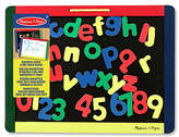 Melissa & Doug Magnetic Chalkboard Dry Erase Board