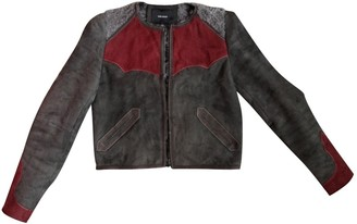 Isabel Marant Grey Suede Leather jackets