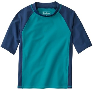 L.L. Bean L.L.Bean Kids' Sun-and-Surf Shirt, Short-Sleeve Colorblock