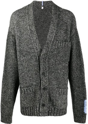 Mcq Swallow Patch-Pocket Cardigan