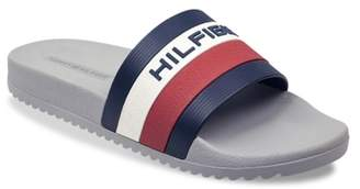 Tommy Hilfiger Raj Stripe Slide Sandal - Men's