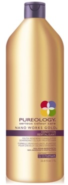 Pureology Nano Works Gold Conditioner, 33.8-oz, from Purebeauty Salon & Spa