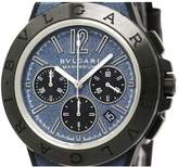 Bulgari Diagono Chronographe ceramic watch