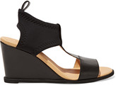 MM6 MAISON MARGIELA Leather and neoprene sandals