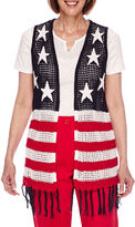 Sag Harbor American Dream Sweater Vest Jacket